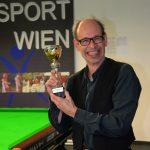 Werner Schuster - Jahresdritter 2015