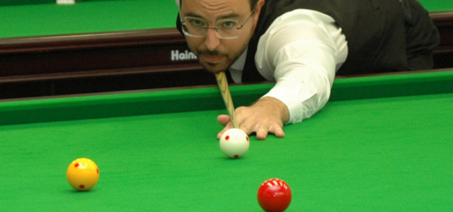 English Billiards Handicap Open Series 1/4: Martin Schmidt auf Platz 1
