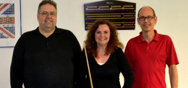 Erster Billiards-Turniersieg für Renate Skoda!