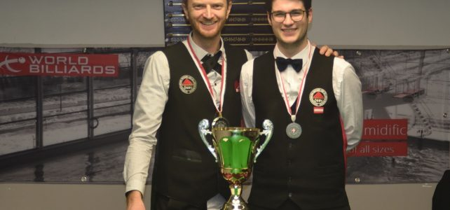 Wr. Landesmeistertitel Snooker AK geht erneut an Sebastian Hainzl!